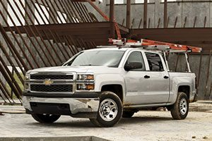 Chevy work truck